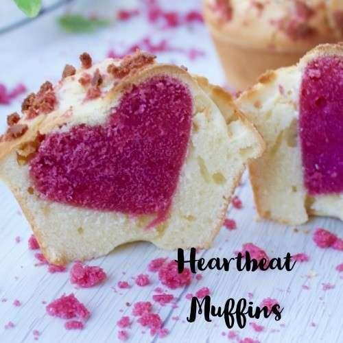 heartbeat muffins