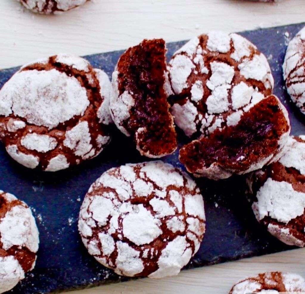 crinckle biscuits